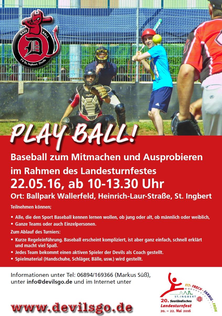 Baseball für Jedermann   SWBSV